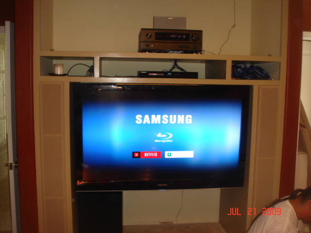 Replace Rear Projection TV With Plasma