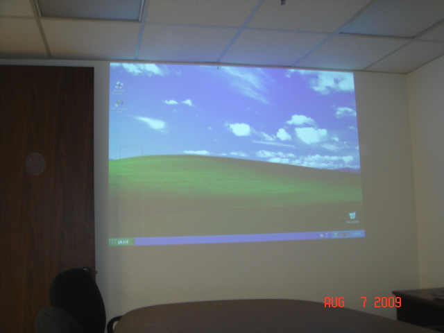 Boardroom Projector installation