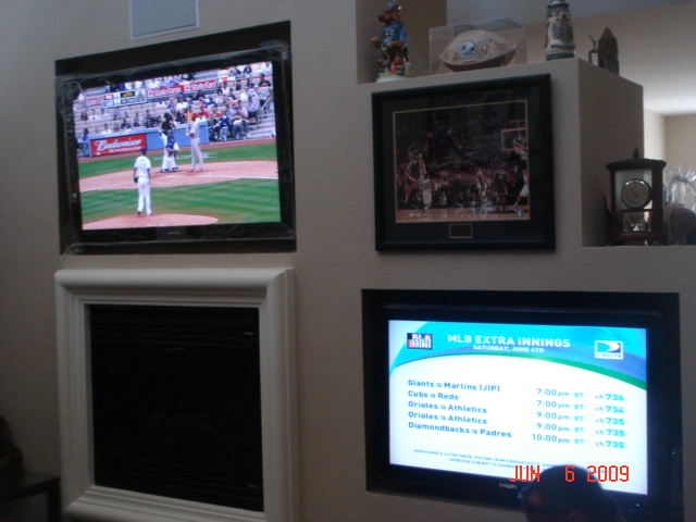 His And Her TVs ,Dual View Home Theater